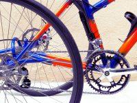 Acier fourche carbone  Axe des roues et les moyeu «TRYKIT» 2 freins disques