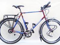 MONTAGE SHIMANO DEORE, moyeu ROHLOFF, roues 26″, porte-bagages TUBUS, poids 16 kg
