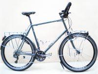 MONTAGE SHIMANO DEORE SLX, roues 26″, éclairage dynamo, porte-bagages en tube de 8 mm chromé