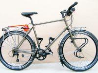 MONTAGE SHIMANO DEORE, roues 26″, porte-bagages TUBUS, poids 16 kg 600